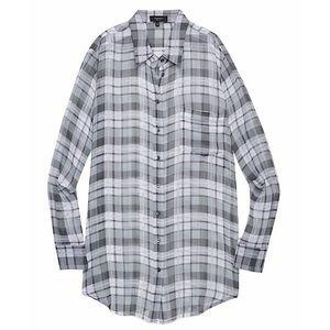 Babaton (Aritzia) 'Darien' Silk Button Down Blouse